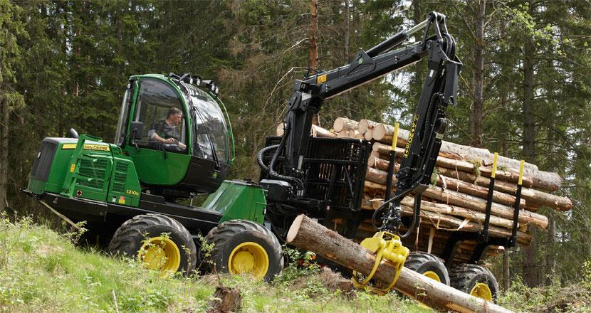 Выкуп лесозаготовительной техники